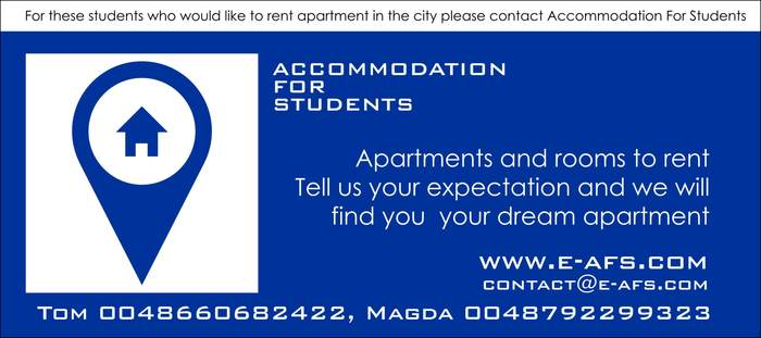Accomodation for Students